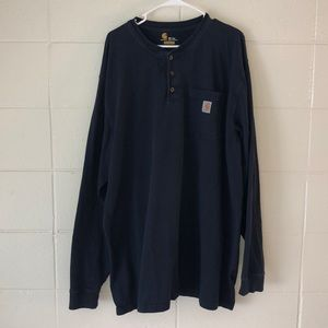 Carhartt Long-sleeve durable shirt.